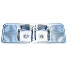 Kwikot - Classique Inset Sink DCB 1390x480mm Stainless Steel