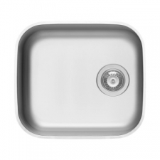 Kwikot   Iris Series Sink Single Bowl Underslung 472x422x200mm Stainless Steel