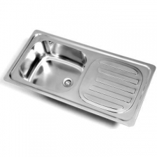 Kwikot   Standard Drop-In Sink SEB 860x435mm S/Steel