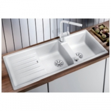 Blanco - Lexa 8 S Drop-In Sink with Pop-Up White