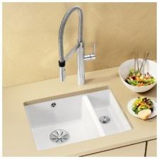 Blanco - Subline 350/150 U Ceramic Underslung Sink 555x456mm Basalt
