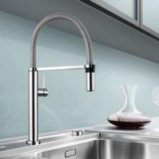 Blanco - Culina-S mini Sink Mixer Single Lever Pillar-Mounted 420x0x200mm SS
