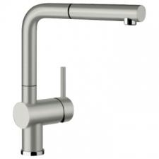 Blanco - Linus S Basin Mixer Pillar-Mounted Pearl Grey