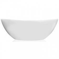 Livingstone Baths - Perlato Petite Bath Freestanding Oval 1500x780x560mm White