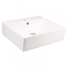 Lecico - Adesso Bordo Countertop Basin White