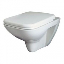 Lecico - C2 Wall-Hung Pan w/ Soft-Close Seat White