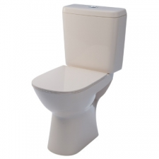 Lecico - Comfort Close-Coupled Toilet w/Soft Close Seat 382x615x846mm White