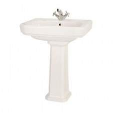 Lecico - New Hamilton Wall Hung Basin 623x477x210mm White