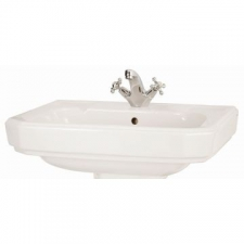 Lecico - New Hamilton Wall-Hung Basin 63cm 1 T/Hole White