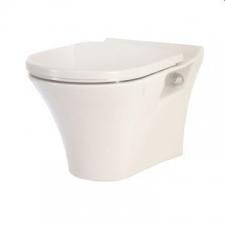 Lecico - Kharine Wall-Hung Pan w/ Soft Close Seat White