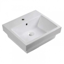 Lecico - Kwando Countertop Basin 520x475x170mm White