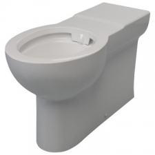 Lecico - Atlas Rimless 750 Back-To-Wall Pan White