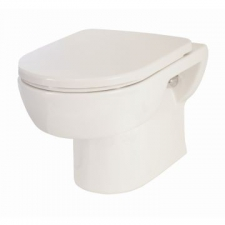 Lecico - Madison Wall-Hung Pan w/ Soft Close Seat White