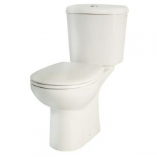 Lecico - Marbella Close-Coupled Boxed Toilet Suite Incl Mechanism Std Seat Angle Vlv White