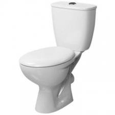 Lecico - Neon Close Coupled Dual Flush Toilet White