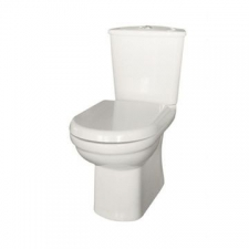 Lecico - Roma Toilet Set C/C Top-Flush White