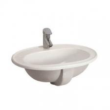 Lecico - Sarah Drop-In Vanity Basin 530 x 195 x 400mm White