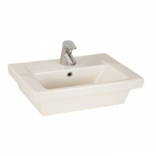 Lecico - Steps Square W/Hung Basin 535x425mm White
