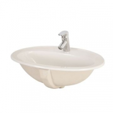 Lecico - Sumaya Drop-In Vanity Basin 2TH 570x460x220mm White