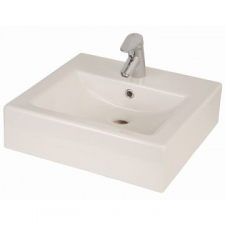 Lecico - Tangerine Countertop Basin 435x463x142mm White