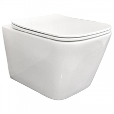 Lecico - Volta Wall-Hung Pan 345x5103x340mm White