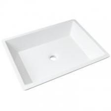 Livingstone Baths - Piazza Basin Countertop 550x415x120mm Grey