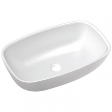 Livingstone Baths - Risata Basin Countertop 550x350x160mm White