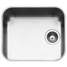 Smeg - Alba Single Undermount sink 470 x 420mm Stainless Steel