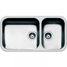 Smeg - Alba Design Sink Underslung 840x460mm Stainless Steel