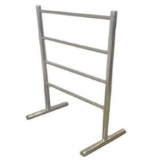 Stunning Bathrooms - Towel Rail Freestanding 600x900mm Polished Stainless Steel