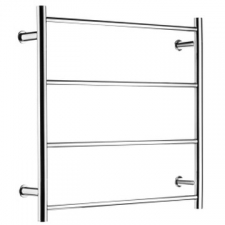 Stunning Bathrooms - Towel Ladder Rail Round High 4 Bar 600x600mm Polished Stainless Steel