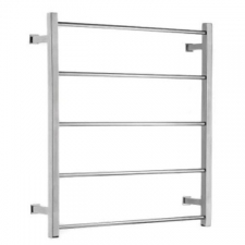 Stunning Bathrooms - Towel Ladder Rail Round High 5 Bar 600x800mm Polished Stainless Steel