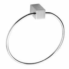Stunning Bathrooms - Quantum Towel Ring Polished Stainless Steel