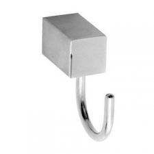 Stunning Bathrooms - Quantum Robe Hook Polished Stainless Steel