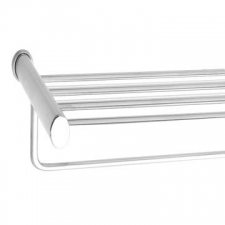 Stunning Bathrooms - Original Towel Rack 600x250mm w/ Bar Chrome