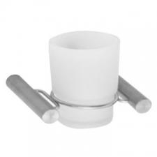 Stunning Bathrooms - Slimline Tumbler Holder Brushed Stainless Steel