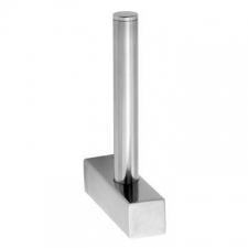 Stunning Bathrooms - Quantum Spare Toilet Roll Holder Polished Stainless Steel