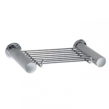 Stunning Bathrooms - Saturn Double Soap Rack Polished Stainless Steel