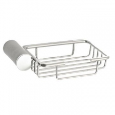 Stunning Bathrooms - Saturn Soap Basket Brushed Stainless Steel