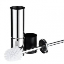 Stunning Bathrooms - Allure Toilet Brush Set Freestanding or Wall Mounted Stainless Steel
