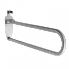 Stunning Bathrooms - Drop Down Support Rail 650x150mm Brushed Stainless Steel