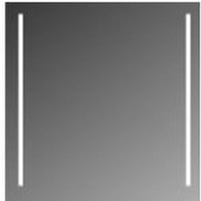 Stunning Bathrooms - Cosmo Mirror w/ 2 x Fluorescent Lamps 62W Power Consumption 750x550mm