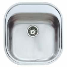 Stylo 1B Sink Drop-In SB 485x465x160mm Polished Stainless Steel