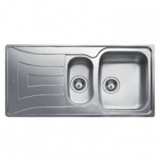 Universo 1.5B 1D Sink Drop-In SEB & Tidy 1000x500x160mm Polished Stainless Steel