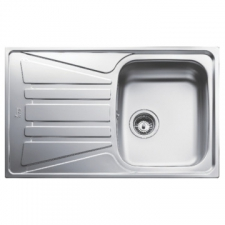 Basico 1B 1D Sink Drop-In SEB 790x500x150mm Polished Stainless Steel