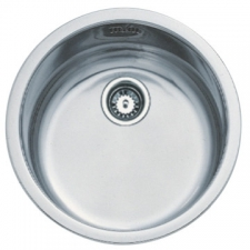 Basico 450 Sink Prep Bowl 450x450x160mm Stainless Steel