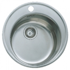 Basico 510 Sink Prep Bowl 510x510x160mm Stainless Steel