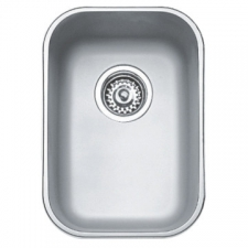 Basico 280 Sink Underslung SB 433x307x180mm Polished Stainless Steel