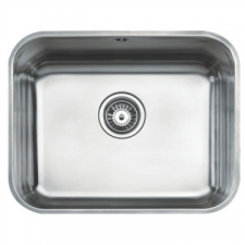 BE 50 40 Plus Sink Underslung SB 530x430x200mm Polished Stainless Steel