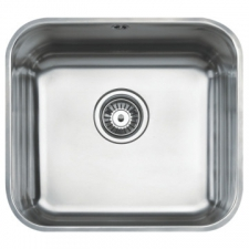 BE 45 40 Plus Sink Underslung SB 429x479x200mm Polished Stainless Steel